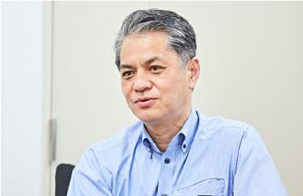 JR西日本下関地域鉄道部部長の河田哲也さん