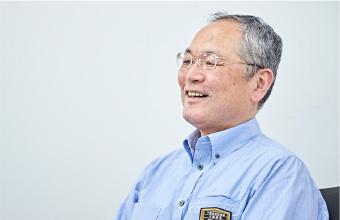 JR西日本下関地域鉄道部企画課長の阿部正範さん(現 山口駅長)