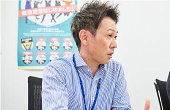 下関市観光政策課企画振興係 主任の宇戸田和俊さん