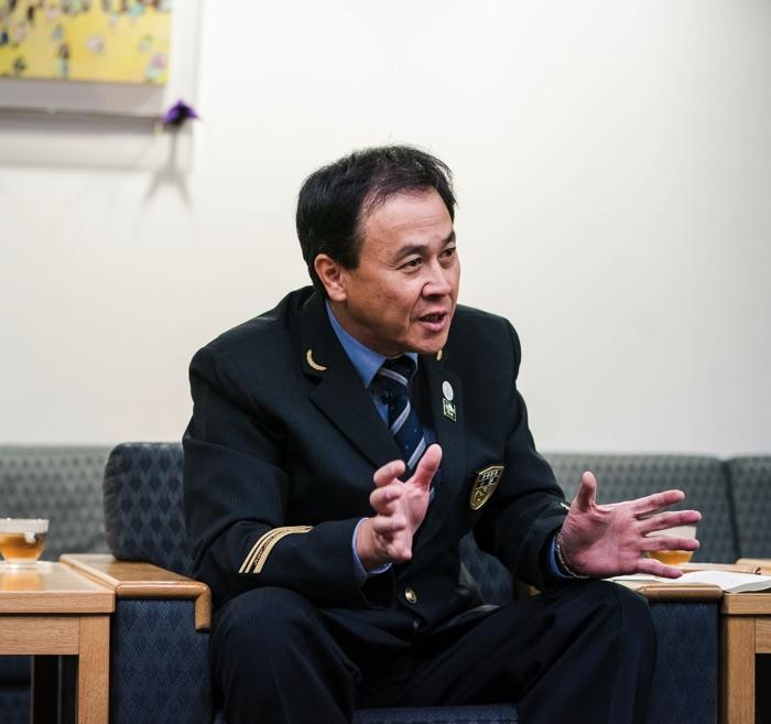 JR西日本 京都駅 小野佳典 駅長