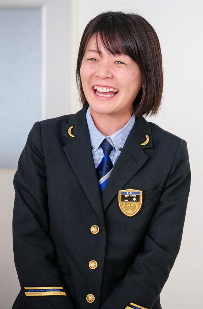 JR西日本 豊岡列車区 三木彩奈 運転士