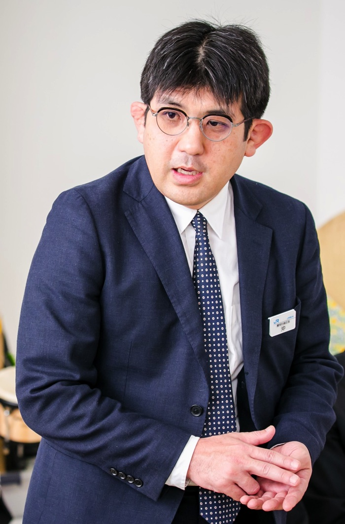 JR西日本 豊岡列車区 沖覚 豊岡列車区長