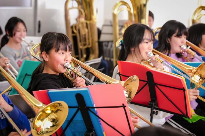 五荘小学校金管バンド