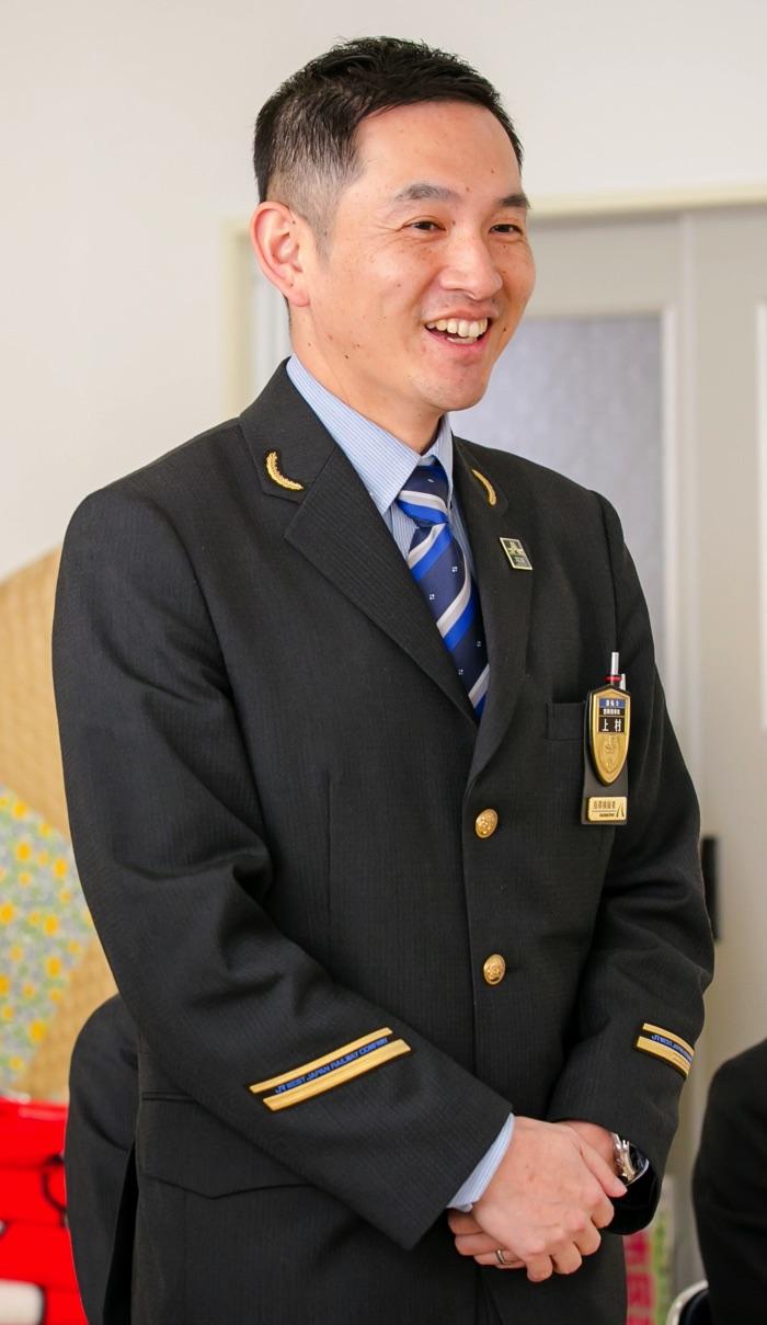 JR西日本 豊岡列車区 上村哲央 運転士