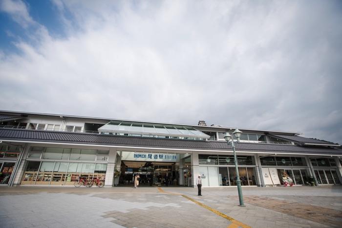 2019年3月に新しく生まれ変わった尾道駅舎
