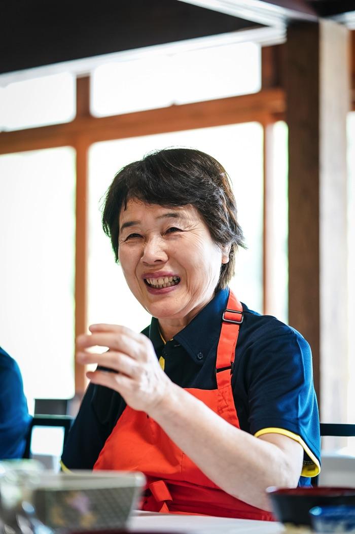 田舎料理レストラン「かやぶき」統括リーダー 坂本暢子さん