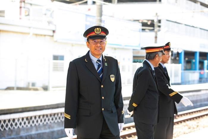 JR倉敷駅 植田兼二駅長