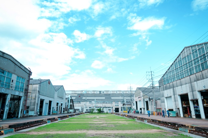 鳥取県米子市にある後藤総合車両所